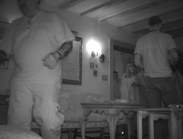 Investigation in progress at the John Cox House in Bermuda