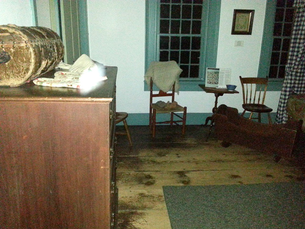 Light Anomaly in Nathan Hale Homestead