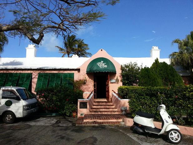 The Fourways Inn in Bermuda